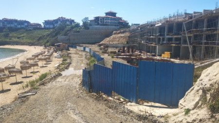 The Alepu construction site