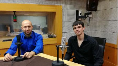 Антьон Кюричет и Христо Златков