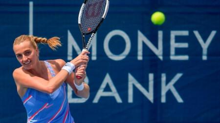 Петра Квитова ще изиграе втори турнир в Прага.