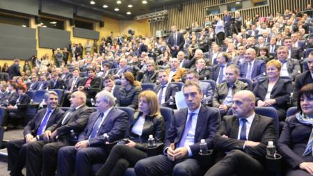 ПП ГЕРБ проведе национална среща на партията.