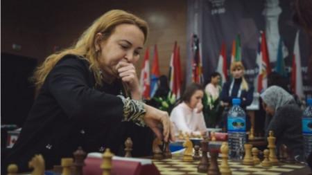 Само Антоанета Стефанова постигна победа срещу Русия на онлайн олимпиадата
