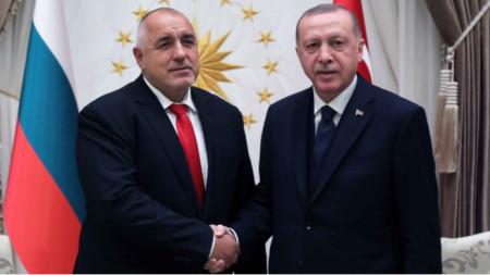 Zotërinjtë Borisov dhe Erdogan