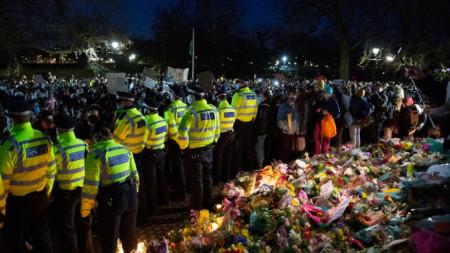 Бдение в Лондон за убийството на Сара Еверард