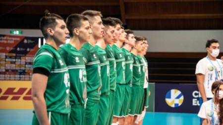 Националният отбор по волейбол на България за юноши