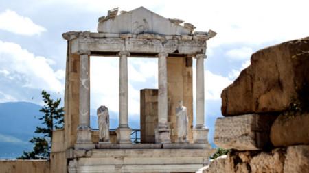 Амфитеатърът в Пловдив
