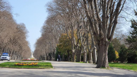 Морската градина във Варна