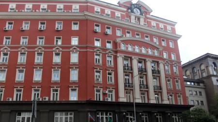 Сградата на Министерство на труда и социалната политика, което предлага промените.