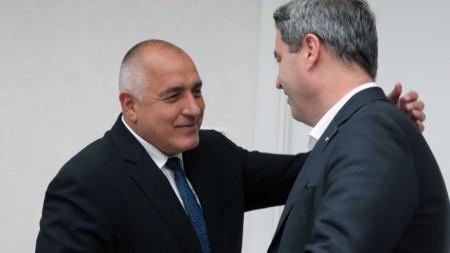 Бойко Борисов и Маркус Зьодер