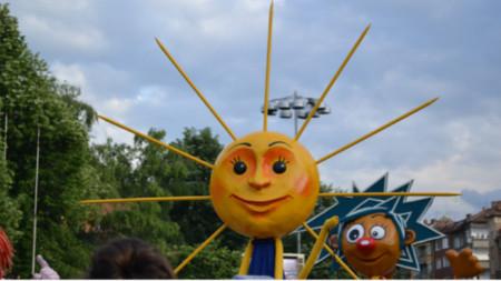The carnival in Gabrovo in 2019