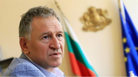 Bulgaria's caretaker Minister of Health Stoycho Katsarov