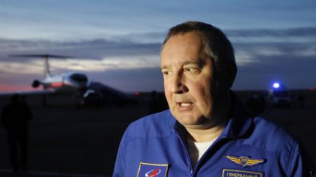 Дмитрий Рогозин, главен изпълнителен директор на 'Роскосмос
