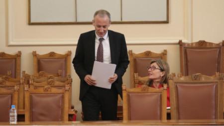 Education Minister Krassimir Valchev