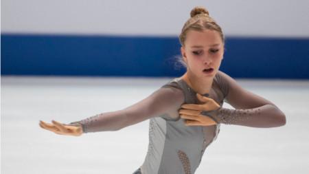 Александра Фейгин замина за Грац за участие в европейското първенство.
