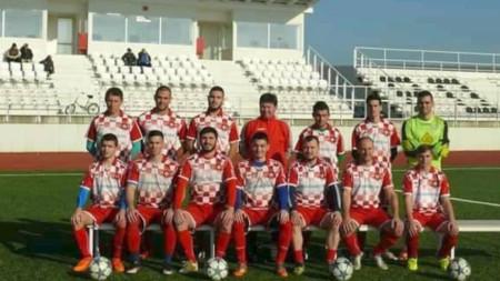 """Отборът на """"Кубрат 2016"""""""
