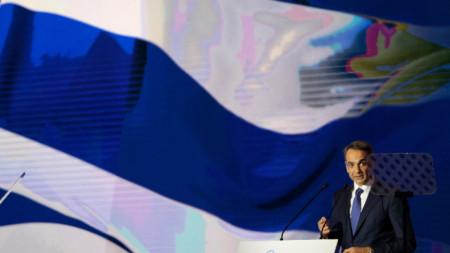 Гръцкият премиер Кириакос Мицотакис