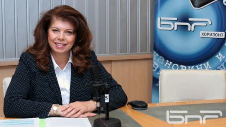 Вицепрезидентът Илияна Йотова