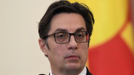 Президентът на Република Северна Македония Стево Пендаровски