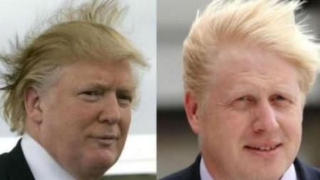 Доналд Тръмп и Борис Джонсън