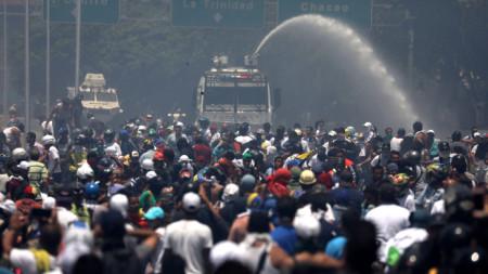 Антиправителствен протест във Венецуела