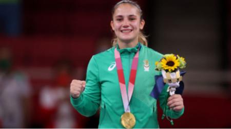 Ивет Горанова донесе първото злато за България в Токио.