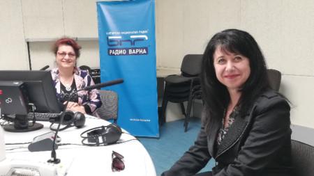 д-р Елена Колева и д-р Севдалина Георгиева, СМБ-Секция Варна