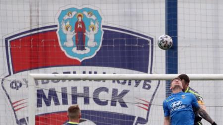 Първи мач от първенството на Беларус беше отложен.