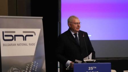 Греъм Елис от BBC беше преизбран за президент на Радиокомитета на EBU.