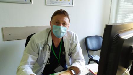 Д-р Ангел Гозманов - дир. ВМА Пловдив