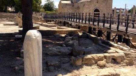 Кипър - маршрут - апостол Павел