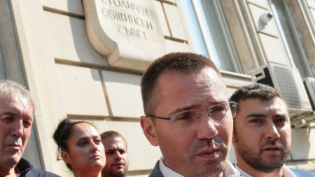 Ангел Джамбазки е кандидатът на ВМРО за кмет на София