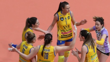 ВК Марица (Пловдив) спечели шеста поредна титла в първенството.