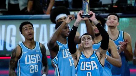 Отборът на САЩ победи Тима на останалия свят със 161:144 точки