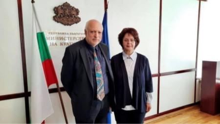 Велислав Минеков и Ирена Стефоска