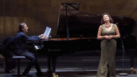 Красимира Стоянова и Людмил Ангелов във Виенската опера