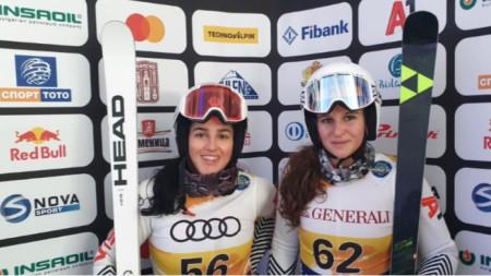 Ева Вукадинова и Юлия Златкова.