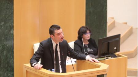 Гиорги Гахария получи доверието на грузинските депутати и оглави новото правителство на страната