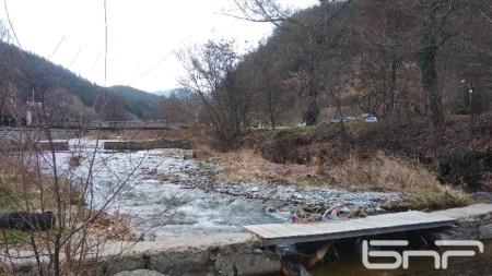 Корито на река Благоевградска Бистрица