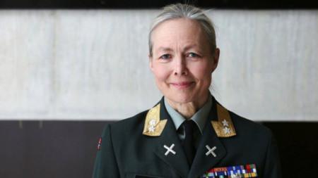 Генерал-майор Ингрид Джърд от Норвегия