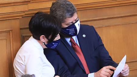 Антоанета Цонева и Христо Иванов от