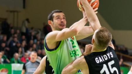 Берое приключи сезона като лидер в Балканската лига.