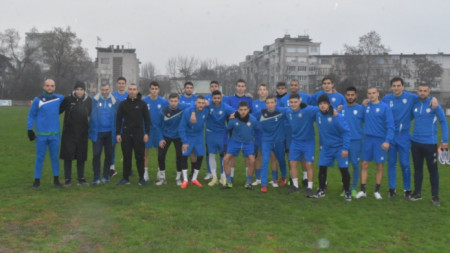 Спартак (Пловдив) с първа тренировка за годината