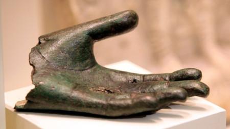 """Експонат от изложбата """"Спасени съкровища на България"""""""