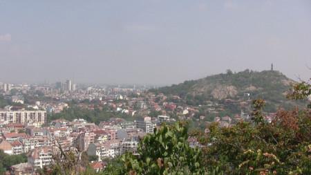 Младежкият хълм (Джендем тепе) в Пловдив