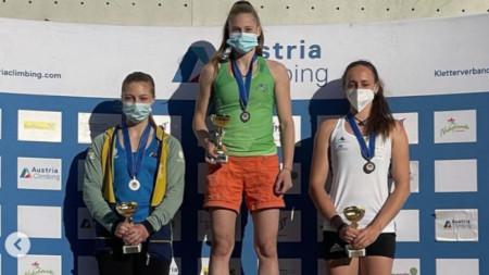 Алекс Тоткова - златен медал