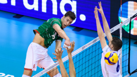 Волейболистите ни надиграха Нидерландия в Лигата на нациите