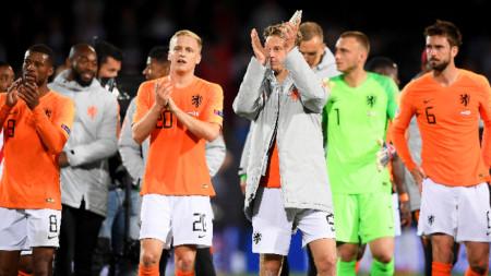 Националният отбор на Холандия