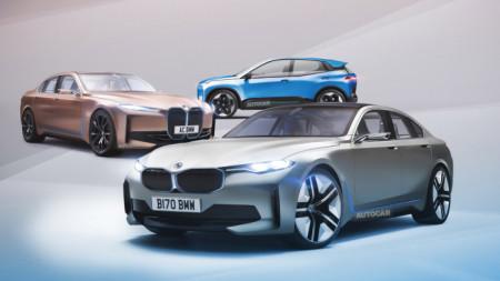 Електрически автомобили на BMW
