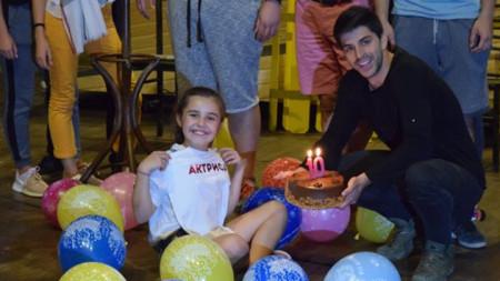 10-годишната актриса Емилия Топозулис от Благоевград