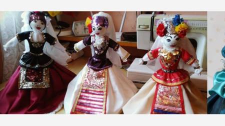 Куклите на Оля Матарова