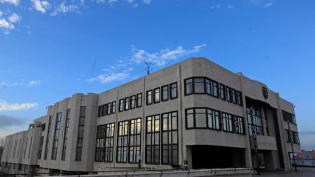 Сградата на словашкия парламент.